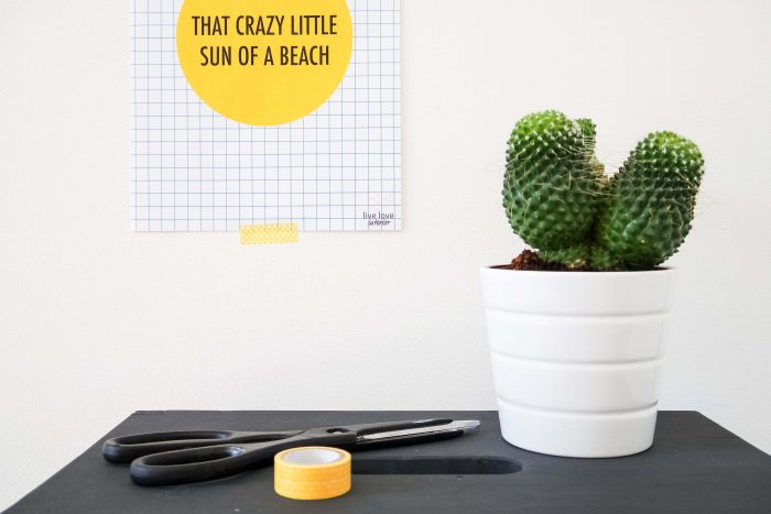 That crazy little sun - printable quote