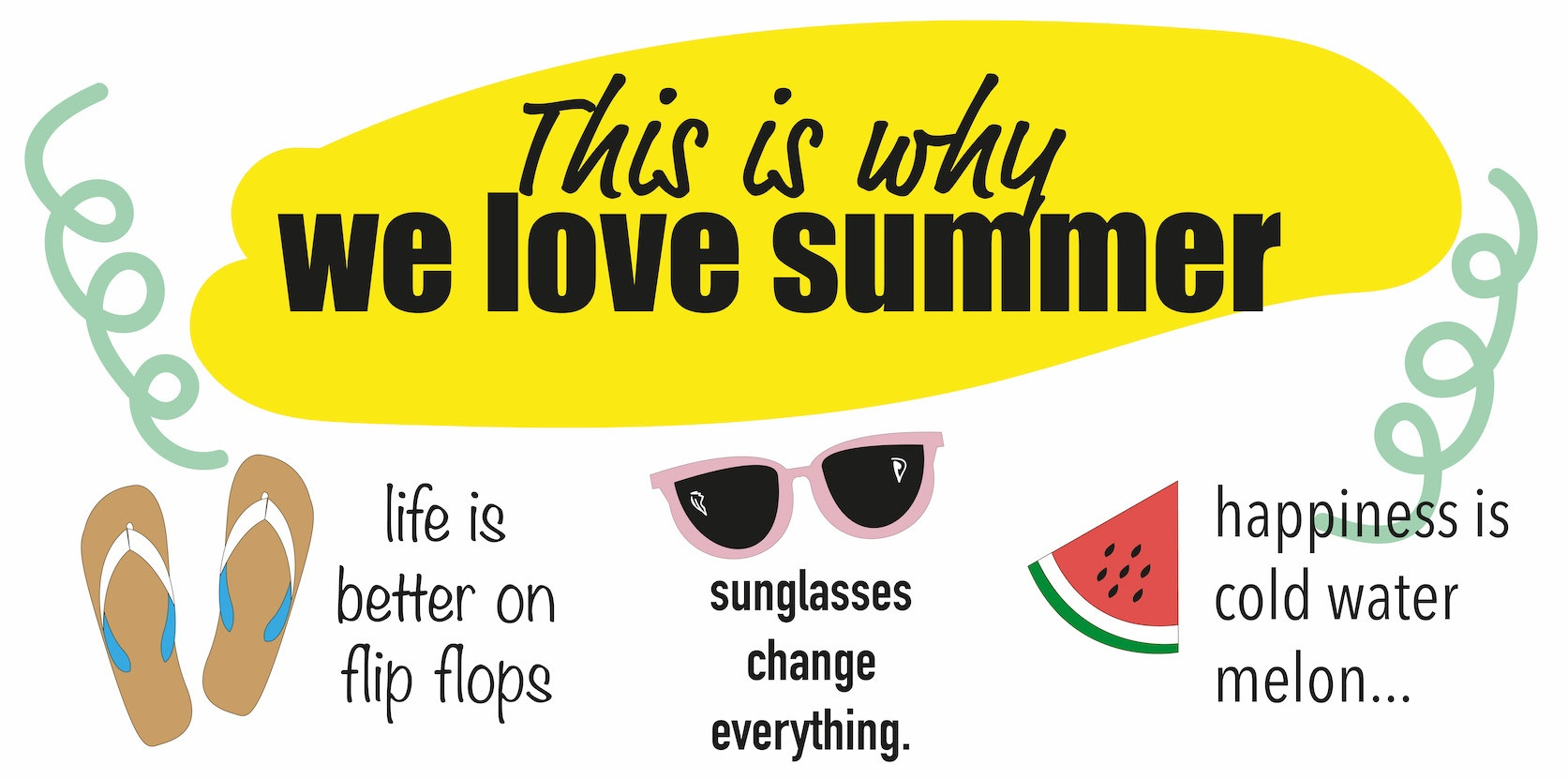 Printable why we love summer