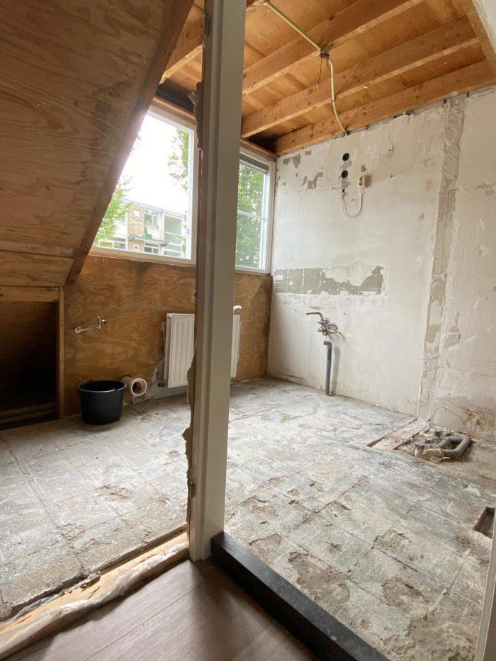 Badkamer gesloopt - Live Love interior