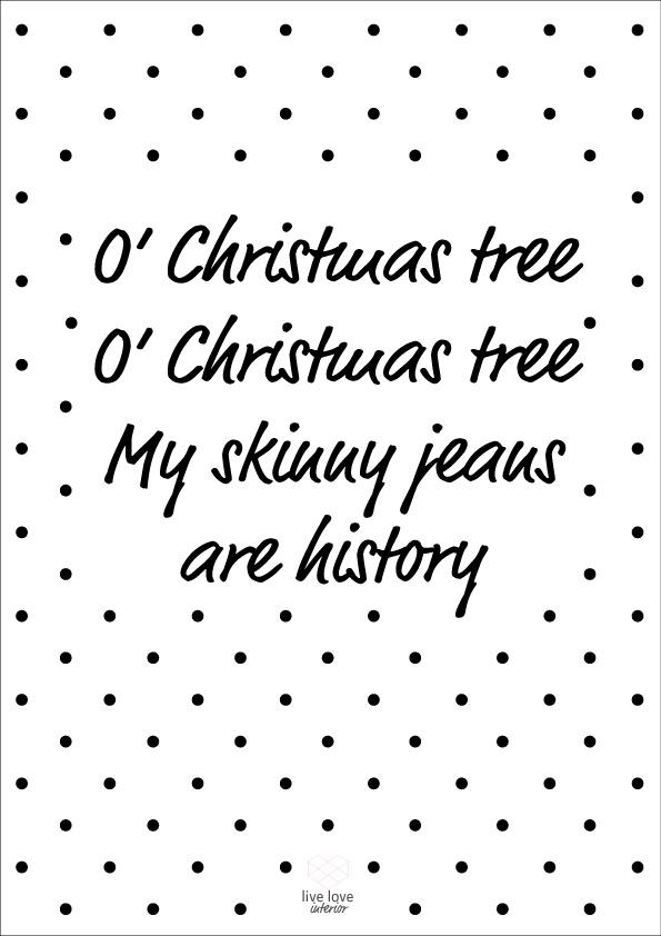 Printable-Oh-christmas-tree-Live love interior