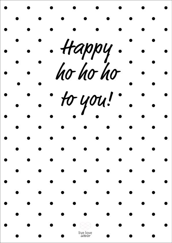 Printable-happy-ho-ho-ho-to-you-Live love interior