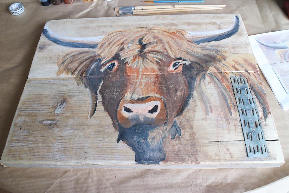 Give-away Thuisworkshop schilderen dier