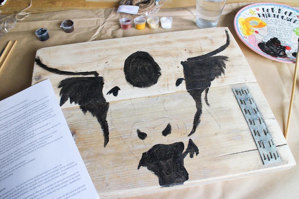 Giveaway Thuisworkshop schilderen dier