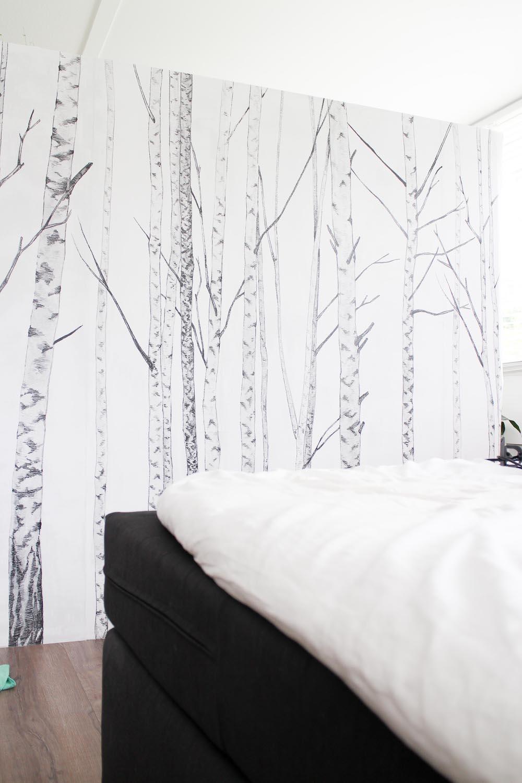 Behangen met Photowall- Live love interior